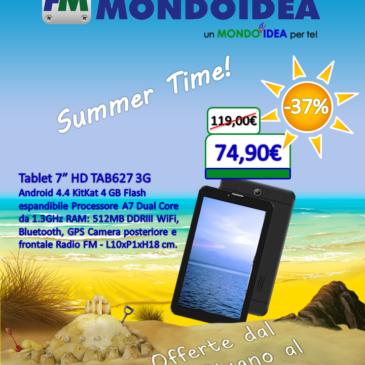 Scopri le promozioni estive di Mondoidea