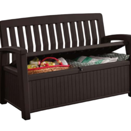 PATIO BENCH – Marrone