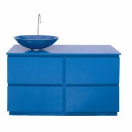 Mobile bagno Margherita – blu