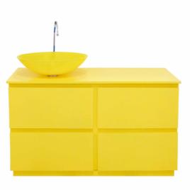 Mobile bagno Margherita – giallo