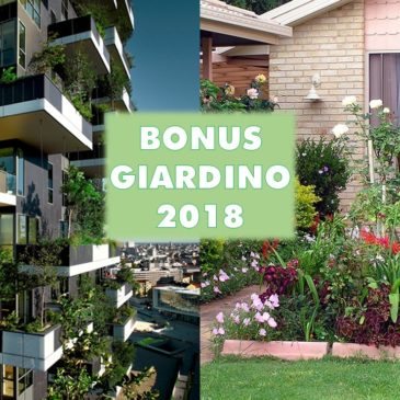 Bonus Giardini 2018