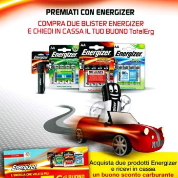 Premiati con Energizer!
