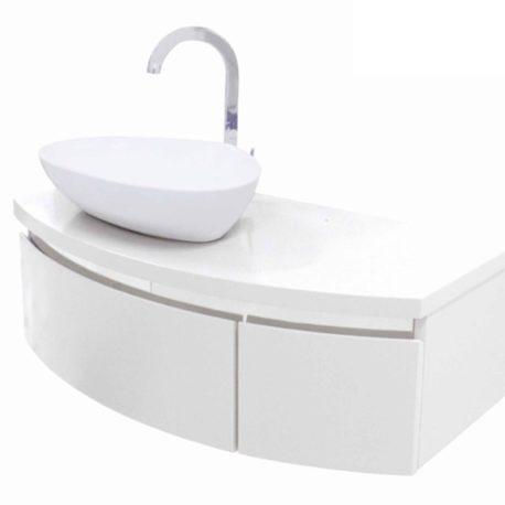 Mobile Bagno Brigitte Bianco Satinato
