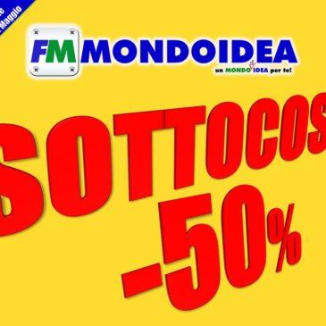 Da MONDOIDEA arriva il SOTTOCOSTO!
