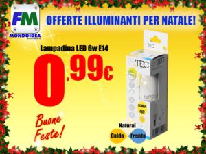 Offerte Mondoidea Dicembre 2018 InTech Ferramenta Bricolage Fai Da Te Roma LED Faretti Lamapdine Risparmio Energetico Luce Fredda Naturale Calda E14 E27_2