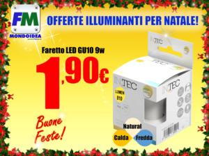 Offerte Mondoidea Dicembre 2018 InTech Ferramenta Bricolage Fai Da Te Roma LED Faretti Lamapdine Risparmio Energetico Luce Fredda Naturale Calda E14 E27_3