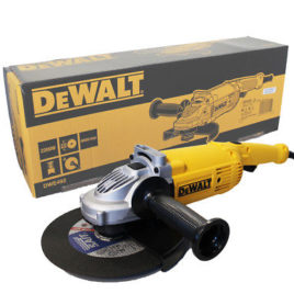 Smerigliatrice DeWalt DWE 492 2200 watt con impugnatura orientabile