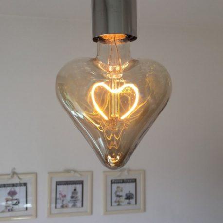 lampadina led 5w cuore sanvalentino roma ferramenta mondoidea