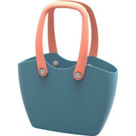 Borsa Multifunzione FOR the living bag in plastica morbida lavabile