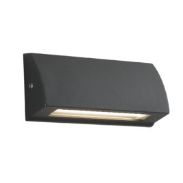 Applique a Led in Alluminio Antracite Shelby 4w 120lm 4000k Ip54