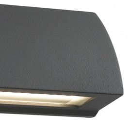 Applique a Led in Alluminio Antracite Shelby 6w 240lm 4000k Ip54