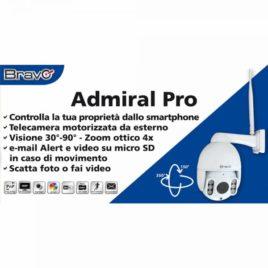 Telecamera Motorizzata Bravo Admiral Pro
