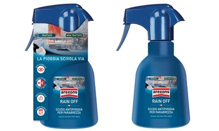 Rain Off Arexons Spray Antipioggia Scudo per Parabrezza 200ml
